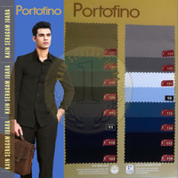 Kain Seragam Portofino seragam polisi pdh pdl Maxistyle per 10 cm