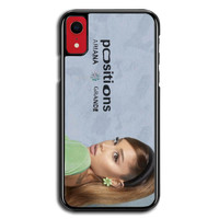 Casing iPhone XR Ariana Grande Positions P2687