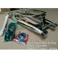 Swing arm rx king oval chrome