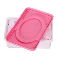 Wer Kotak Tisu Basah / Kering Bahan Plastik Untuk Bayi