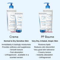 Gel Cream Baume Atopic Body Stick Levres PP Atoderm Atopik Bioderma de