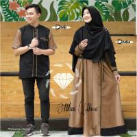 2021 muslim pasangan lebaran terbaru baju couple kapelan fashion kelua
