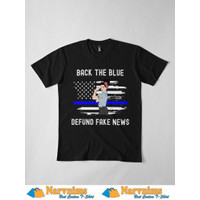 Kaos Distro NV Back The Blue Police Supporter Thin Blue Line 2012