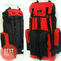 The Malang North Carrier PETUALANG Tas 60 Liter Face 60L Turkish TNF F