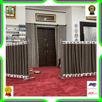 Sekat Masjid / Partisi Masjid / Pembatas Shaft / Pembatas Ruangan