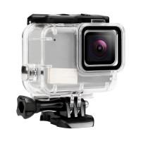 Case Pelindung Anti Air untuk GoPro Hero 7 Warna Silver / Putih