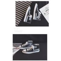 MEFoot.ID model putih abu Warna Sneakers High Bahan Wanita - Korea Top