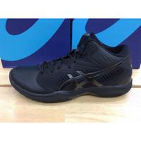 Sepatu Basket Voli Volly Volley Asics Gel Hoop V12 Black Original