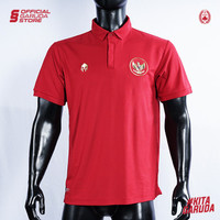 Shirt MILLS Indonesia Red Timnas Polo