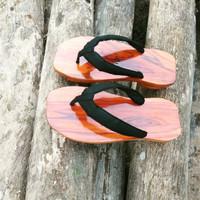 kayu Sandal terompah bakiak