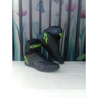 hitam sepatu COD Bisa alpinestar drag kapro touring
