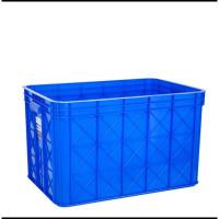 Keranjang Leaf Ikan Bak Box Container Green Plastik 2243P Kontainer P