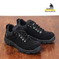 SIZE Boots Safety Besi 45 Pendek 46 BIG Ujung Pria & Sepatu Skyway Cla