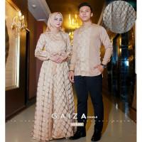 pesta Couple Keluarga Mewah Baju Modern Pasangan Muslim Kondangan Keki
