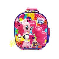 Tas - Little Kecil Motif Trolly Anak Koper Anak TK pony Backpack Berod