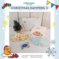 Hampers 3 Arkamaya Gudetama x Christmas -