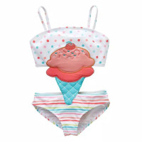 Baby Baby 3 Anak 2 Perempuan Baju 1 Bayi Bikini Tahun Renang Swimsuit