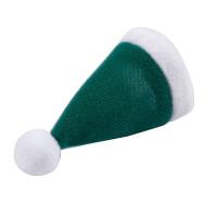 10pcs/Set Mini Santa Claus Hat Xmas Apple Wine Bottle Gift Caps for