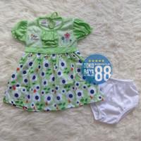 Bayi Bulan Lucu Baju Perempuan Elegan SDR-FZ03 Setelan 3-18 Berkualita
