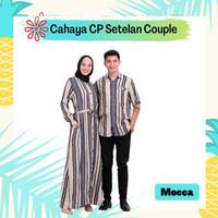 Gamis Dress Viscose Cople Baju Muslim Set Pasangan Kemeja Cewe Katun C