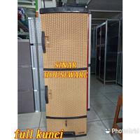 PLASTIK LEMARI SUSUN 5 FULL KUNCI LACI NAPOLLY PLASTIK PAKAIAN JUMBO L