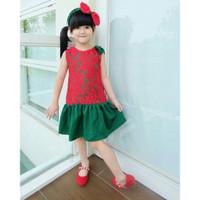 Glory Mom Anak Brokat Couple Ethnickidswear Baju Dress Natal Dress Ana