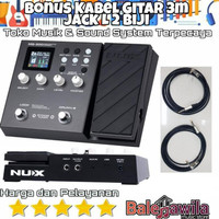 New Efek Effect Nux MG300 MG 300 Guitar Modelling Processor Efek
