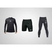 Voli Manset Renang Celana Bola Sepeda Baju Futsal 3 1 Paket Football B