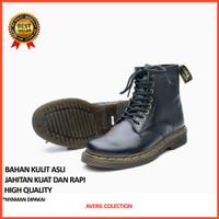 Cowok 1080 Pria Boot Asli Docmart Safety Casual X7Q0 Kulit Sepatu Boot