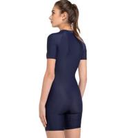 Opelon - Blue S-3XL Wanita Renang Diving Assoluto Suit Ladies Pakaian