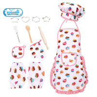 13PCS Complete Kids Cooking and Baking Set with Apron Chef Hat