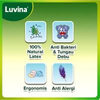 Latex Bantal Wedge Pillow - untuk Bayi Menyusui Luvina Santai