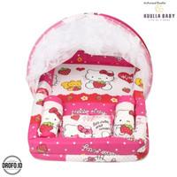 HUULLA BABY Kasur Anak Karakter Pink Bayi Balita Hello Kitty HB 131