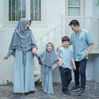 Premium Baju Gamis Baju 2021 Jumbo Kaple Moscrep Muslim Couple Lebaran
