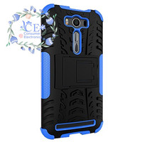-Two-hybrid protective layer armor Case For Asus Zenfone 2 Laser