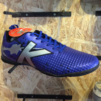sepatu premium Kicosport sepatu futsal KELME star evo royal blue