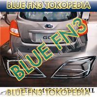 p9ab2 Paket: Garnish Lampu Depan Dan Belakang Datsun Go+ Panca, Front