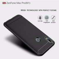 Asus Case - Carbon Pro Zanfone Max Hitam M1iPAKY Softcase