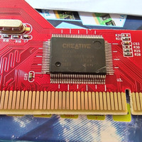 CD WITH CARD DRIVER PCI SOUND