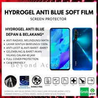 ANTI GORES HYDROGEL ANTI BLUE Samsung A520 A5 2017 DEPAN BELAKANG