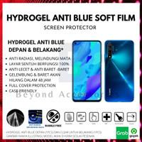 ANTI GORES HYDROGEL ANTI BLUE Samsung A8 Plus DEPAN BELAKANG FULLCOVER