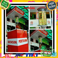 Cuci Gudang Mesin Pertamini Pom Mini Mesin Engkol Full Set Free Murah