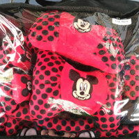 Sarung Jok Universal Mobil 18 in 1 Motif Mickey Mouse Limited