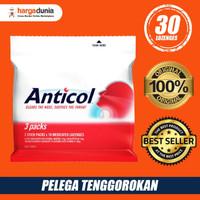 TERBATAS Anticol Throat Lozenges 3 Packs BERKUALITAS