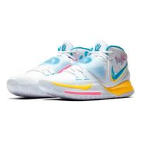 Sepatu Sneakers Basket NIKE KYRIE 6 EP XDR NEON GRAFFITI White Blue