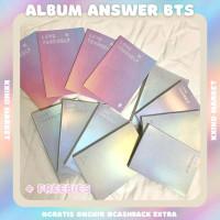 Album BTS Answer Album BTS Official Album Unsealed Album Only
