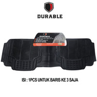 DURABLE Karpet PVC Khusus Bangku Ke 3 For Wuling Cortez