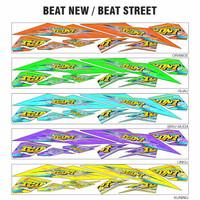 Striping BEAT motif ICON semi stiker NEW - motor THAILOOK variasi full