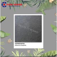TERMURAH ROMAN GRANIT HARDROCK 60 X 60 TGT605767CR DVESUVIO GRAPHITE