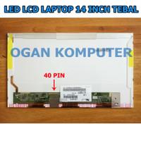 Layar LCD LED Laptop Toshiba C600 C640 L600 L640 L645 L745 L740 Series